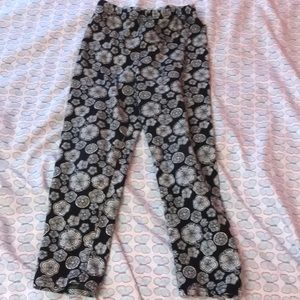 Marmellata Classics black and white pants